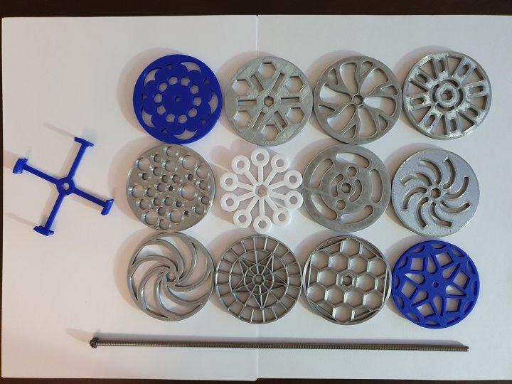 Komplettes KIT für Kaleidoskosp-Swirl